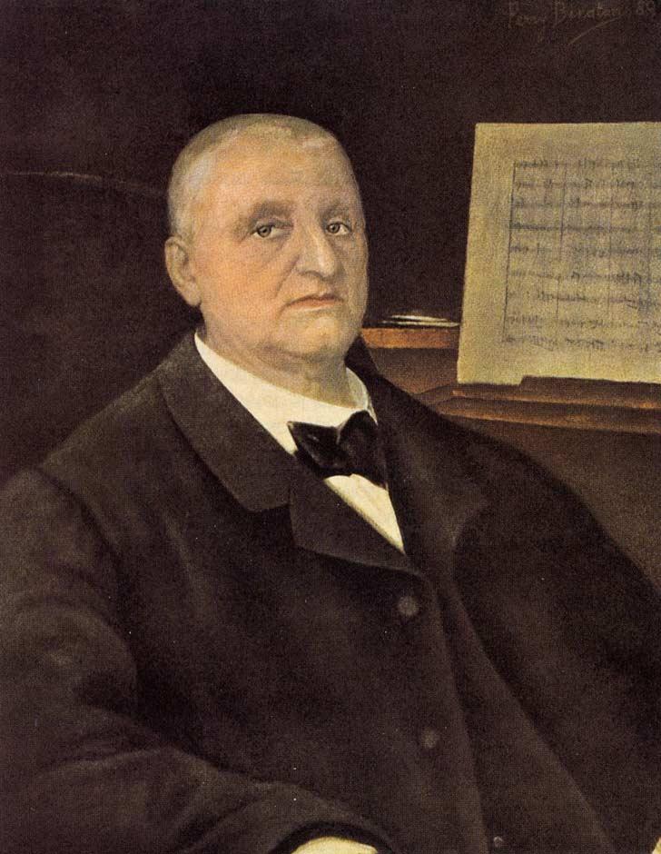 Anton Bruckner Gemälde