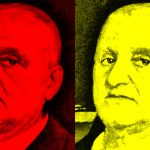 Anton Bruckner 4-farbig