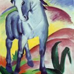 Franz Marc - Blaues Pferd I