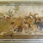 Alexander der Große bei der Schlacht bei Issos