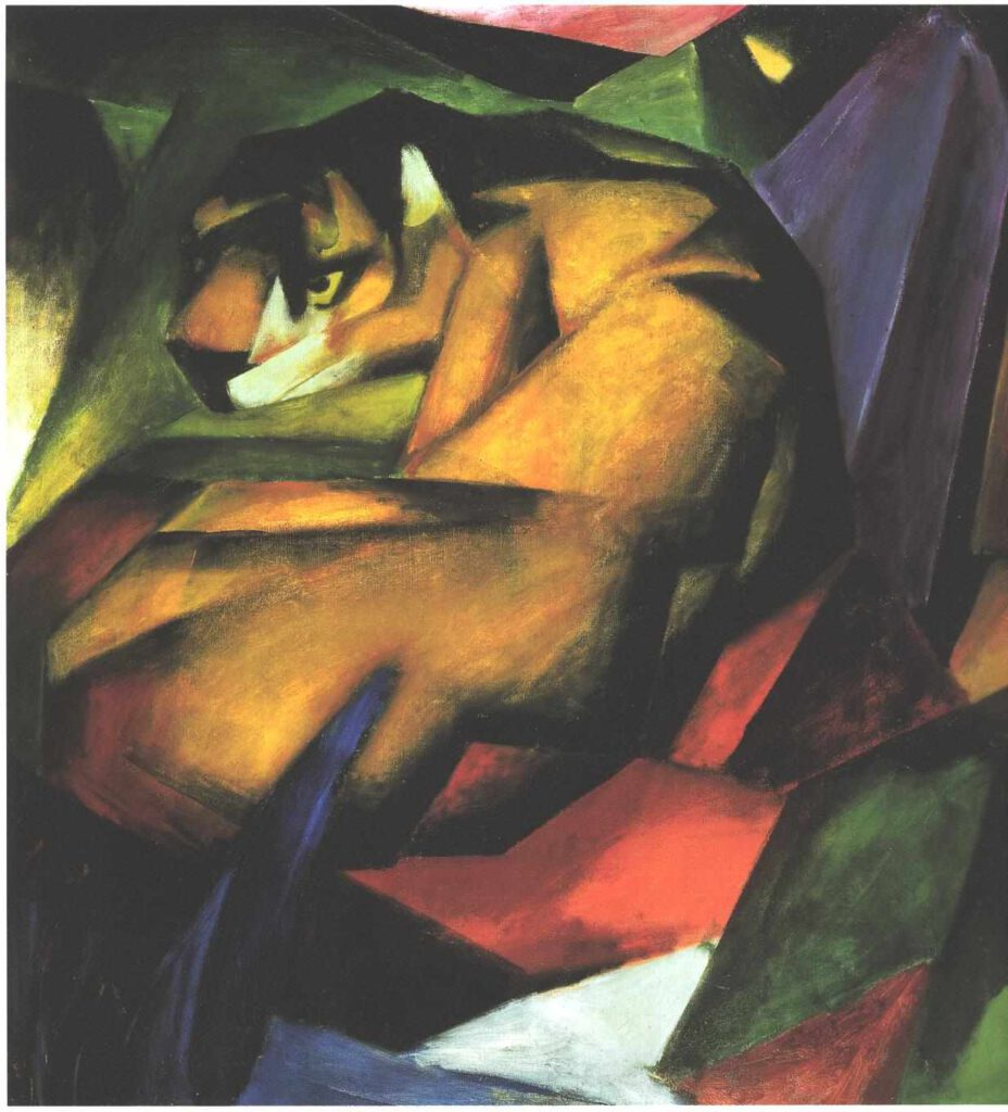 Franz Marc - Tiger
