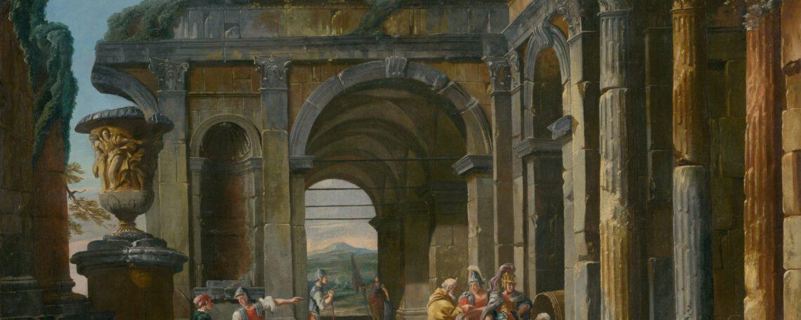 Alexander der Große und Diogenes